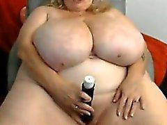 Älteres Dicke Frauen mit massivem Titten