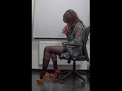 My lovely sexy secretaries body-4)