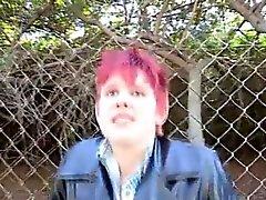 Niedliche Pixie Redhead Köche das herauf Problem