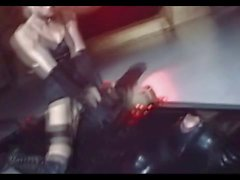 Strangelove'daki - erotik bir koltuğu femdom fetiş kabartmak