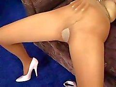 sexy pantyhose hottie