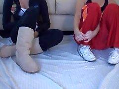 Doppelklicken Foot
