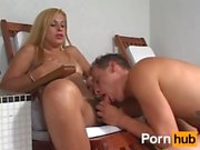 getting fucked by tranny