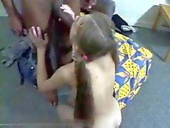Valeria Nemchenko sever siyah ve büyük
