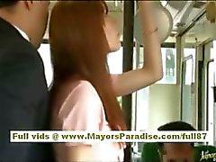 Rio asiatica babe teen farsi limare la figa hairy accarezzava in autobus