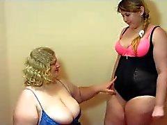 Las lesbianas Gordas y Bellas el fisting