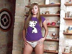 Jessika Lux brunett brud i skjorta trosans