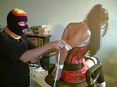 Sasha Fae tied and gagged Part 1