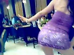 Arabische dansen op een bruiloft