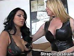 strapon lesbian anal punishment 211