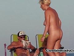 Big Boobs Sexy Pussy Naked Amatööri Nudist Milfs Voyeur Beach
