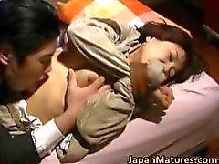Japansk kvinna är kinky och mogna part1