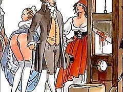 De berömda erotiska Boleros av Manara och Ravel