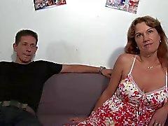 Franse Mature Hardcore Casting