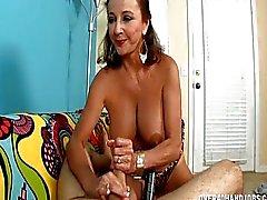 Busty Olgun Lady A Cock Strokes