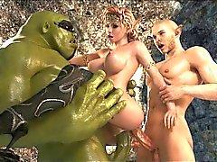 3D Krieg der Sterne Pornografie !