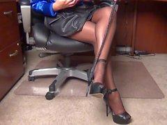 Den sexiga kontorschefen