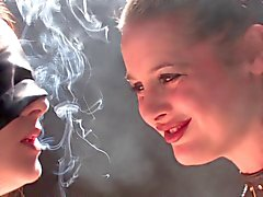 smoking girls dom