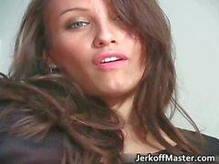 Gorgeous brunette honey Celeste Star