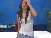 Hot 18-vuotias brunette lutka