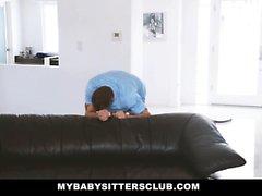 MyBabySittersClub - Gefangen den Babysitter My Cock Berühren