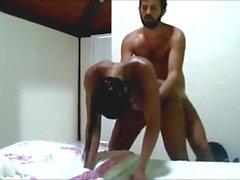 Vollkommenes brasilianisches Mädchengeschlecht des Körpers