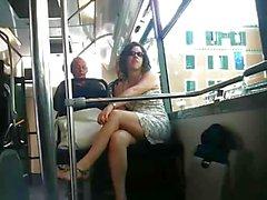 Upskirt francesi Bus di Nizza