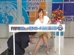 japangirl footjob