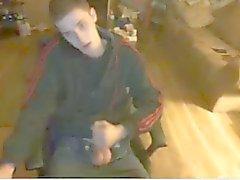 Сексуальность молодых Str8 Boy Онанизм на вебкамеру , Горячая Дева ишака