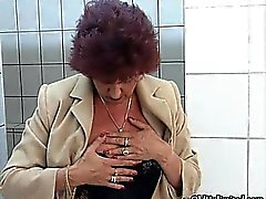 Horny mature housewife fingering part2