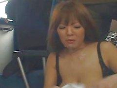 Хитоми Танаки Сексуальная Восточные Кукла имеющего секс