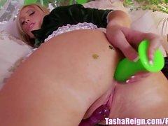 Tasha Reign Masturbates with Anal Toy!