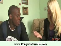 Cougar likes big black dick 25