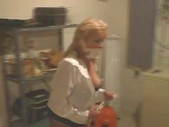 Secretary Bound in Basement