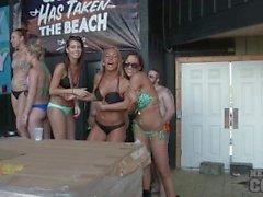 La Vela Birçok Beautiful Girls Hot Bikini Dansları Yarışması