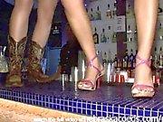 spring break upskirt club girls flashing tits