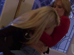 Jessica Drake and Julia Ann enjoy each others company