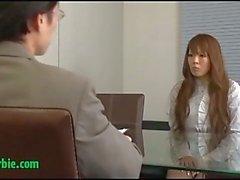 Büyük memeli Japon sürtük doktor ile sikikleri