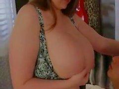 Sexig BBW får anal för första gången