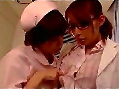 Doctor Getting Her Pussy Rubbed Nipple Sucked By A Nurse In The Hospital