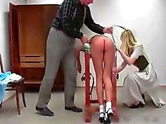 Mooie sexy vervelende schoolmeisje babe krijgt haar part1