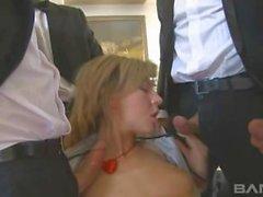 Ass Fucked Blonde Kristi Lust