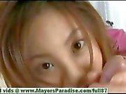 Natsumi'nin Mits masum sevimli çinli kız büyük bir darbe iş veriyor
