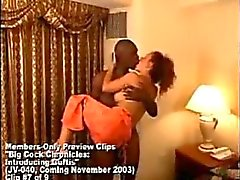 Mature amateur wife and her huge black lover