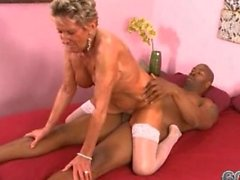 Big Black Cock Sıcak 75 - Year-Old GILF