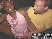 Wild Petite Black Chick Sperm Facials Gang Bang