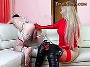 Natasha un fisting ass dello slave l'uomo