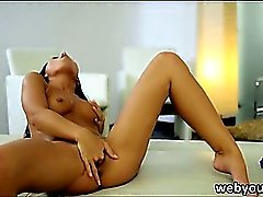 Teen Bailey has a creamy and sweet pussy