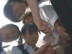 Japanse CFNM HJ - Gecensureerde