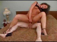 a horny bimbo slut